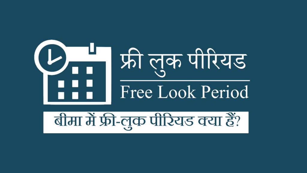 फ्री लुक पीरियड - free look period